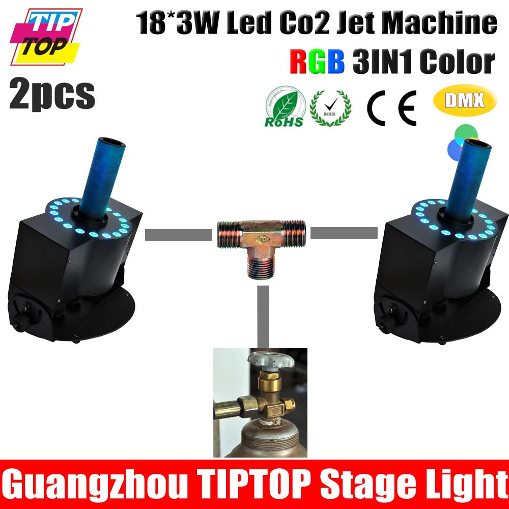 Hi-Quaity LED CO2 Jet Machine 18Pcs 3W Tricolor LED CO2 Jet,Stage Effect Machine,DMX 512 CO2 Jet Machine 90V-240V DJ Equipment<br><br>Aliexpress