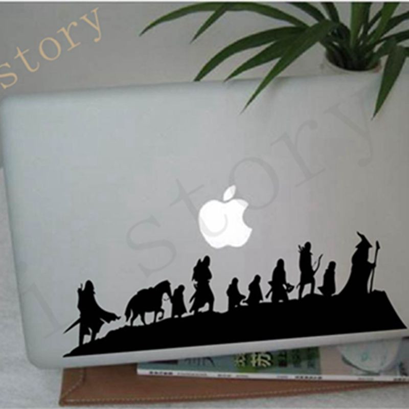 The Lord of The Rings Caravan Wall Decals Fantasy Movie Art Cool for Car/Laptop/ MacBook Vinyl Wall Sticker Free shipping