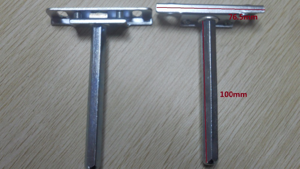 100Pcs/Lot 76*19*11*SW100 INVISIBLE FLOATING SHELF SUPPORT HIDDEN CONCEALED BRACKET PIN SUPPORT(China (Mainland))