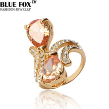 Geometric Teardrop-shaped Zircon Delicate Shimmer Latest Design Vintage Jewelry Engagement Rings For Women JZ-062(China (Mainland))