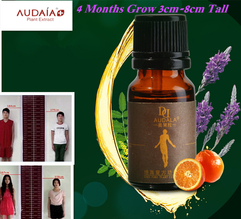 Free Shipping Foot massage oils Heightening Body Grow Tall Essential Oil helps grow taller within 4 months *3-8cm*(China (Mainland))