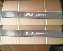 FJ CRUISER stainless steel threshold LED scuff plate sill accessories - Shop2855012 Store store