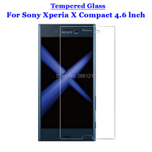 """Buy Sony X Compact Tempered Glass 9H 2.5D Premium Screen Protector Film Sony Xperia X Compact / X Mini F5321 4.6"""" for $1.49 in AliExpress store"""