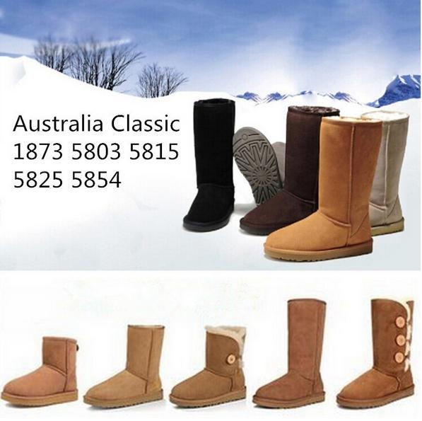Гаджет  Free Shipping Original Quality Australia UG Women Classic Famous Brand Boots Tall Leather Motorcycle Girl Snow Boats Winter 5-10 None Обувь