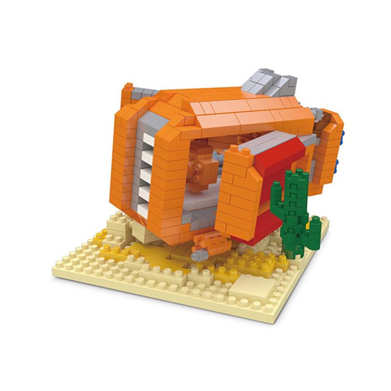 Wisehawk Star Wars Educational Brick Building Blocks Toys Stormtrooper Dark Warrior Clone Trooper BB 8 R2D2