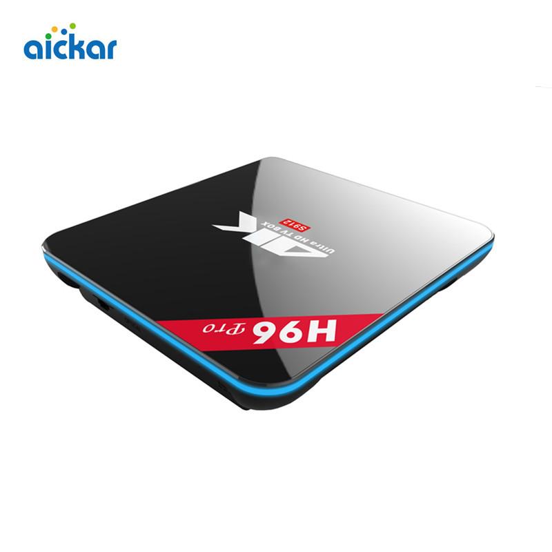 OEM H96 PRO Android 6.0 TV Box Amlogic S912 Quad Core 2G/16G BT4.0 HDMI WIFI 2.4GHz/5.0GHz 4K KODI IPTV Smart TV Media Player(China (Mainland))