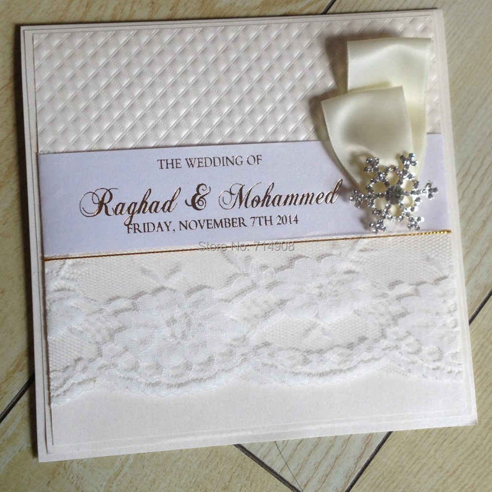 product lace wedding invitation cards free shipping