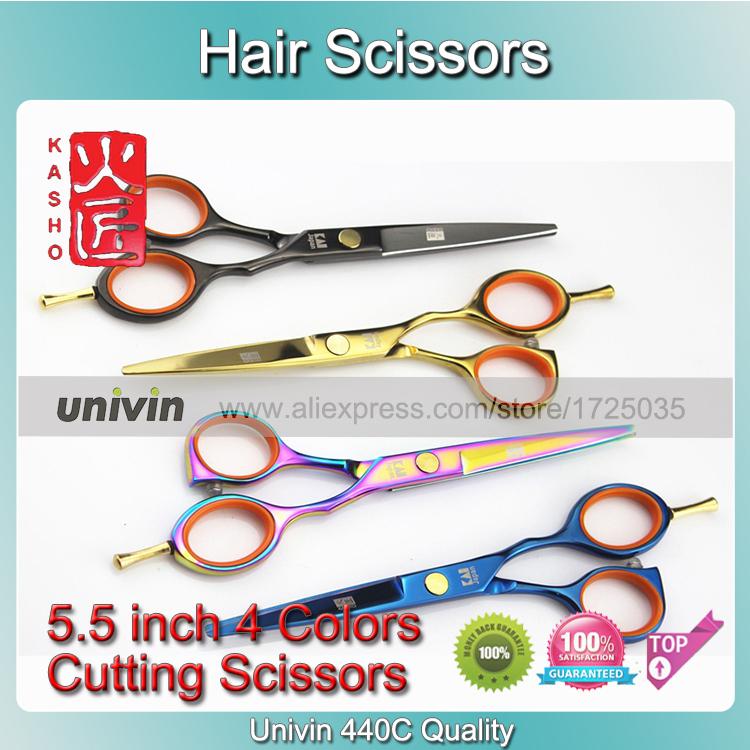 "Kasho Haircut 5.5"" Hair Cutting Scissors Barber Razor Shear Barber Scissors Hair Dressing Scissors Poly Bag Packing(China (Mainland))"