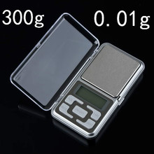 Buy High precision 300g 0.01g Mini Electronic Digital Jewelry Scale Balance Pocket Gram Portable LCD Display backlight 32% for $46.34 in AliExpress store