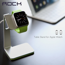 ROCK Table Stand for Apple Watch Charging display stand for smart watch 38 42 stent, Metal showing shelf Desktop pedestal H64