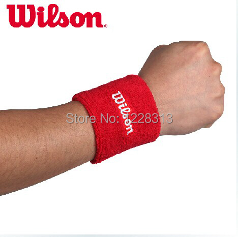 (2 pieces =1 pair)Wilson sports wrist support sports competitions Sports bracelet Sports Bracelet Wrist Brace Support(China (Mainland))
