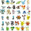 24pcs lot 2 3cm Pokemon Figures Cute Monster Mini Pikachu Figures Toys Random Brinquedos Collection Anime