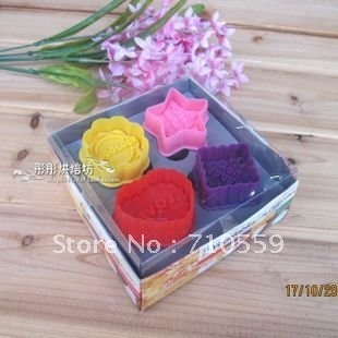 cookie tools 3D three-dimensional cookie cutters / spring pressingthree-dimensionalbiscuitscutting heart + flower + star + side)