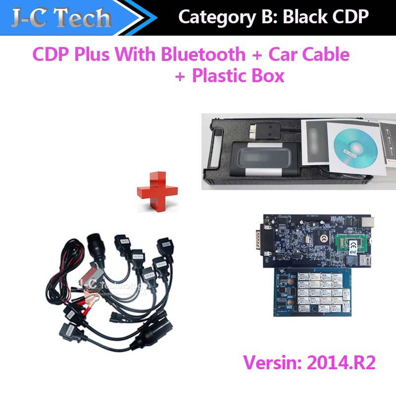 With bluetooth! 2014 02 TCS cdp Pro Plus+free activation CARs+TRUCKs+Generic 3 in 1 TCS (LED LIGHT)(China (Mainland))