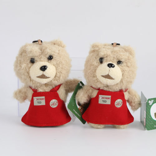 Universal Pictures TED Cheap Bears Teddy Bear Convenience-store clerk Plush Doll Strap Backpack beads(China (Mainland))