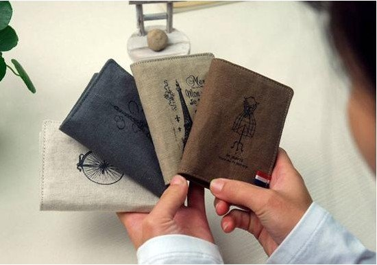 Free shipping  10pcs/lot new Fashion  Linen men card / card set 20 cards