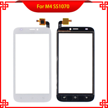 Touch Screen Digitizer For M4 SS1070 1070 5 Inch 100% One By One Test Free Tools Mobile Phone Touch Panel