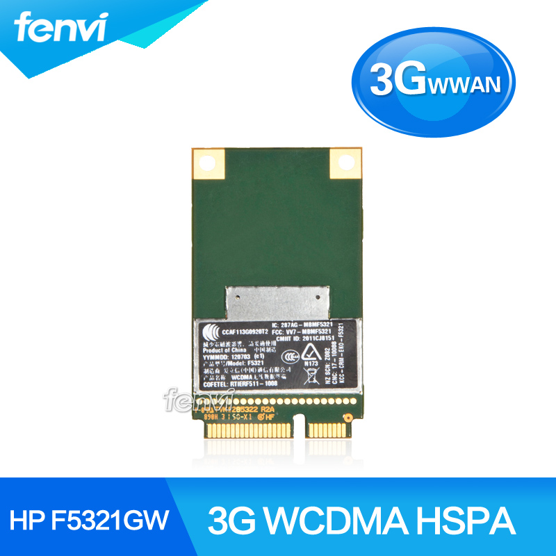 Ericsson F5321GW 3G Wireless 3G WWAN Mini PCI-E Card GPS GSM GPRS EDGE UMTS WCDMA HSPA Module for HP SPS:668969-001(China (Mainland))