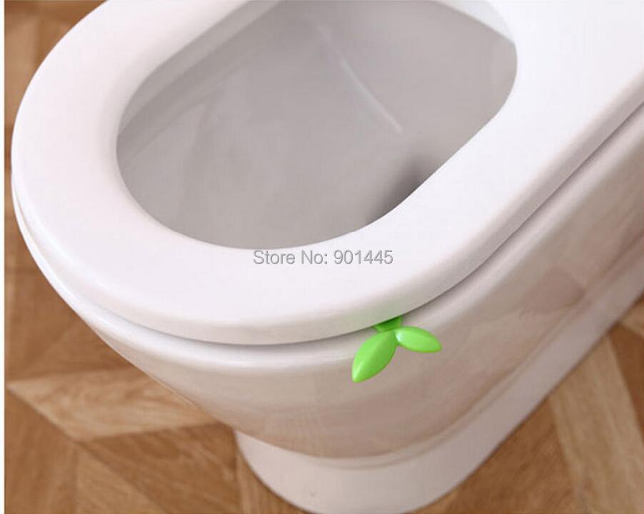 2 unids lote de la nueva novedad asiento del inodoro for Inodoro verde