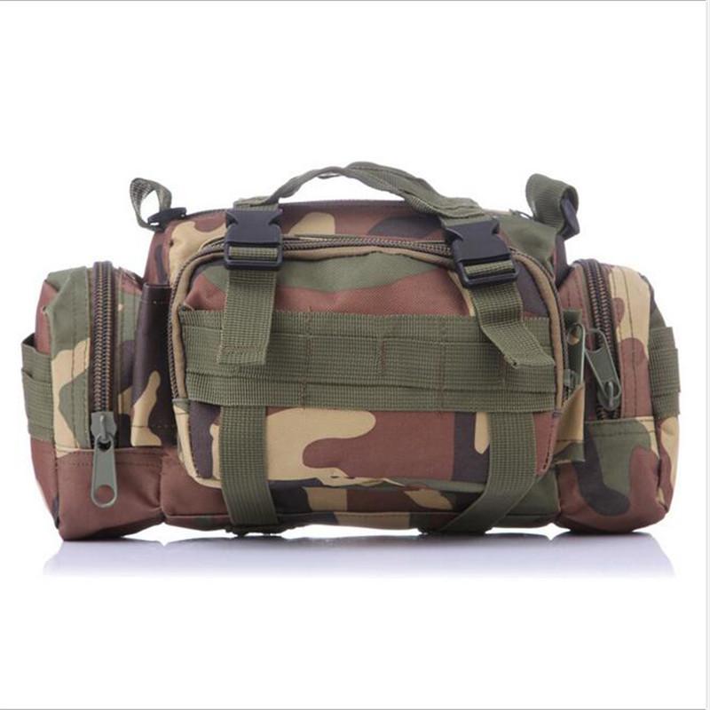 Fashion Camouflage Multi-Function Men Waist bag Military Fashion Waist bag Oxford Cloth Women Single Shoulder Camera Bag A061(China (Mainland))