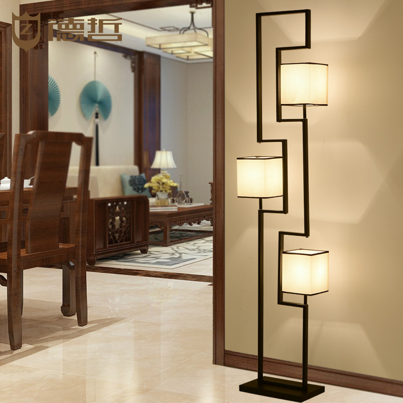 Online kaufen gro handel chinese stehleuchte aus china chinese stehleuchte gro h ndler - Moderne wohnzimmer stehlampe ...