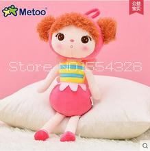 50cm New Metoo Cartoon Stuffed Animals Angela Plush Toys Sleeping Dolls for Children Toy Birthday Gifts Kids Free shipping(China (Mainland))