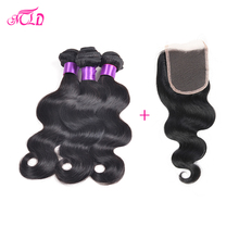 4 Piece Brazillian Body Wave With Closure 1b Grace Hair Brazilian Body Wave With Closure 7a Brazilian Virgin Hair With Closure