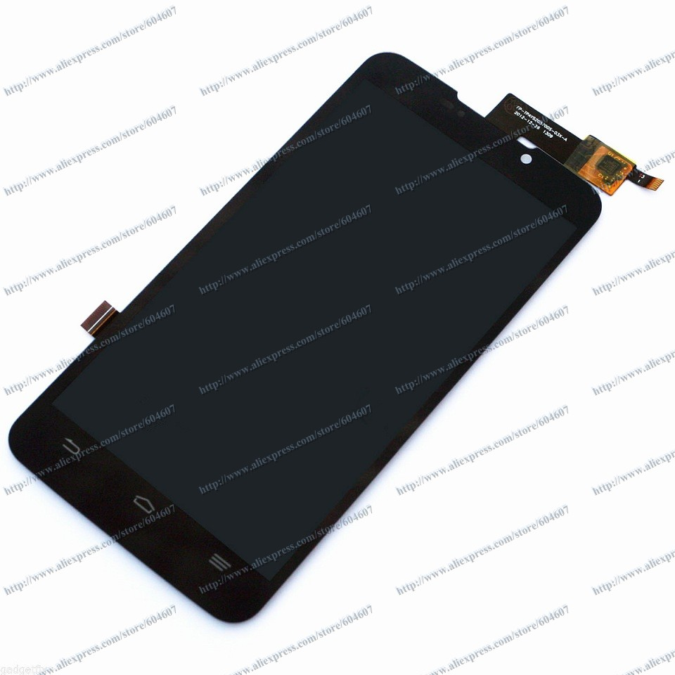 New Black Original Touch screen with Digitizer+LCD Display Assembly for ZTE MAX Boost Mobile N9520 Phone(China (Mainland))