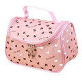 2017 New Zipper Cosmetic Bag Lady Travel Organizer Accessory Toiletry Cosmetic Make Up Holder Case Bag