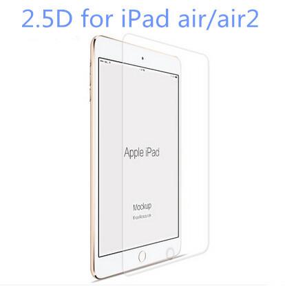 2.5D 9 H для iPad 5/6 iPad air 1/2 новый ультратонкий премиум настоящее закаленное стекло фильм Protectorprotective гвардии