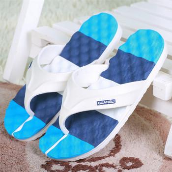 Summer Beach slippers For Men Home Sandals Shoe Slip-resistant Slipper Flip Flops Bath/Massage slippers