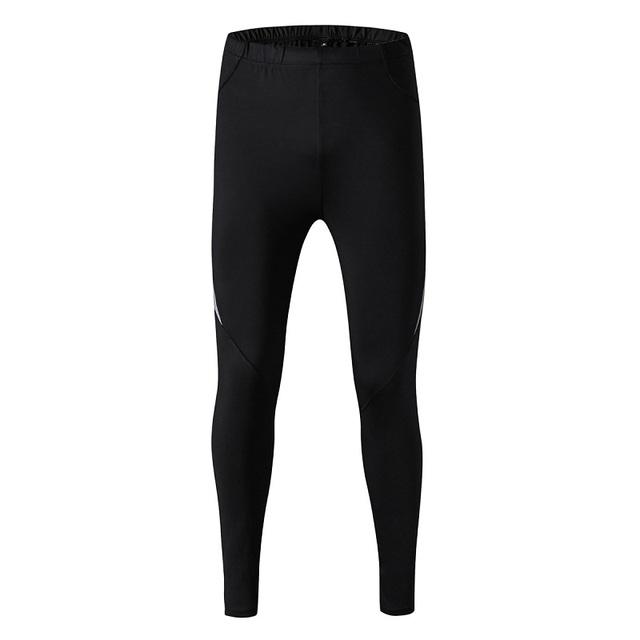 Мужские брюки сжатия спортом бег колготки баскетбол тренажерный зал брюки jogger ...