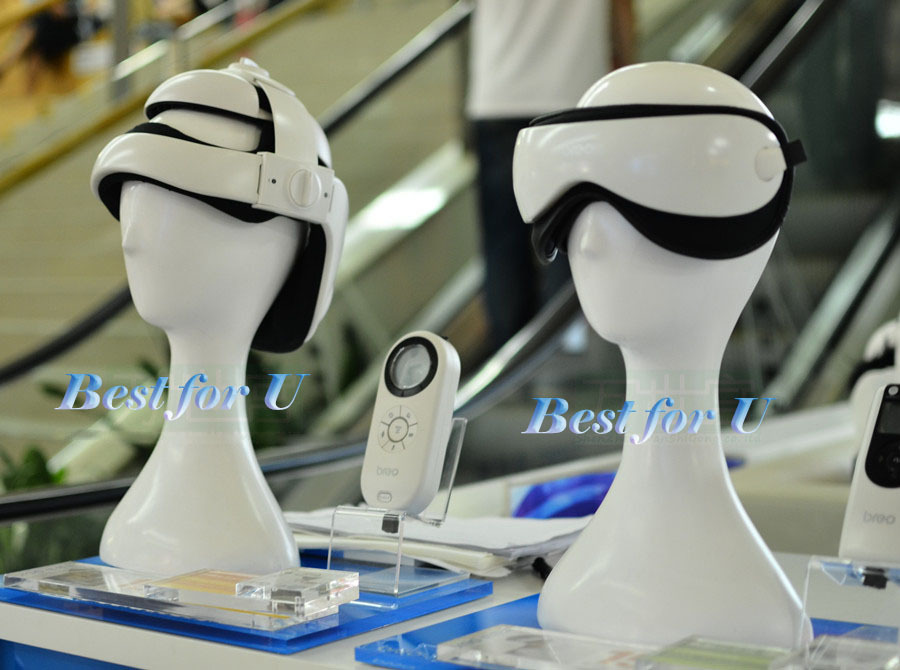 Free Shipping 1PC Female Gloss White Head Mannequin Manikin Male Head Model For Wig Hat Glasses Display Stand(China (Mainland))