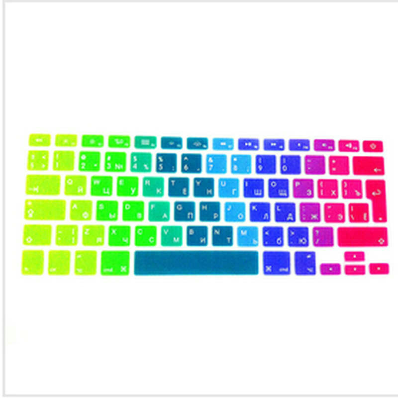 Russian UK EU Silicone font b Keyboard b font font b Cover b font Skin Protector