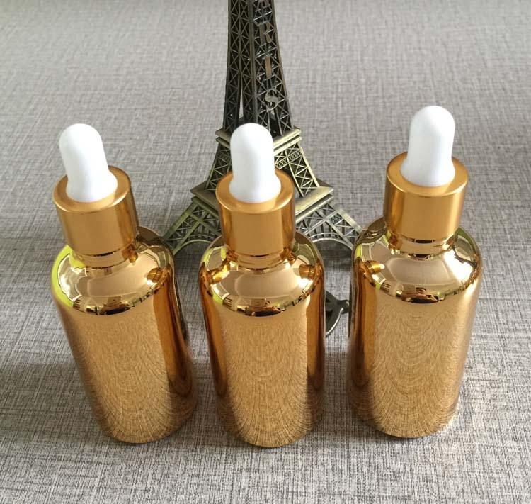 hot sale high-grade 50ml essential oil bottle dropper ,golden essential oil bottles with dropper ,50 ml dropper glass bottles<br><br>Aliexpress