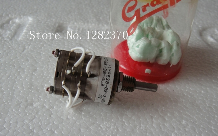 Buy [SA] US imports GRAYHILL band switch gear switch 71MAS30-02-3-02N 2 knives 2 files  --2pcs/lot cheap