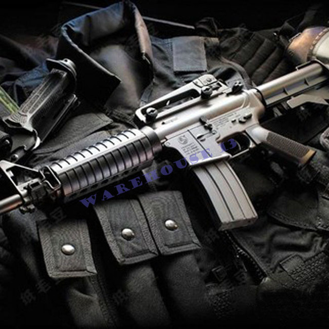 Free shipping! paper model cs1:1 Firearms Assault rifles M4 a1/ 3d paper toy/ handmake toy/diy Weapon toycreative gifts