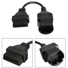 17pin to 16pin OBD2 Diagnostic Cable Adapter Code Scanner For Mazda /Ford /Ranger(China (Mainland))