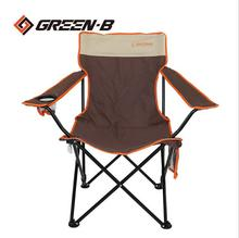 Seaside beach dew single lunch meal portable camping carefree fishing escort outdoor folding chair armrest chai