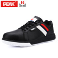 PEAK Mens fashion comfortable safety shoes steel toe cap work safety boots dielectrical non slip casual