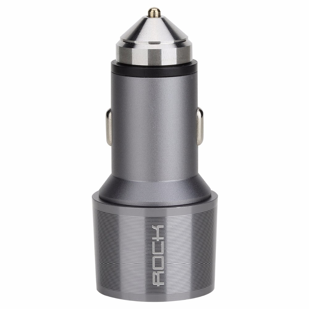 ROCK Car Charger with Emergency Hammer (12)
