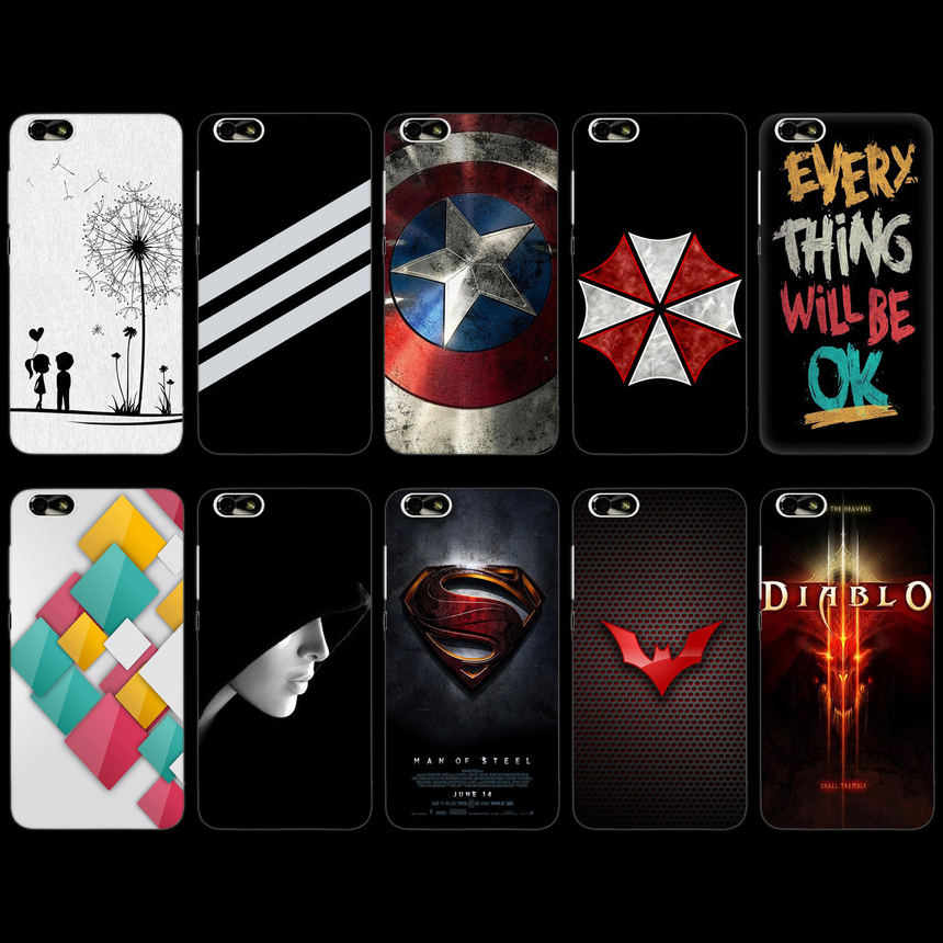 Гаджет  Huawei  Honor 4X  case che1-cl10 thin mobile phone bag Che2-TL00 Hard Cover 5.5 None Телефоны и Телекоммуникации