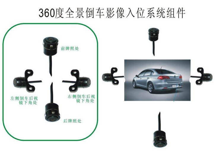 Free shippment ~ hot and cheap camera /universal camera with stable quality car parking video camera(China (Mainland))