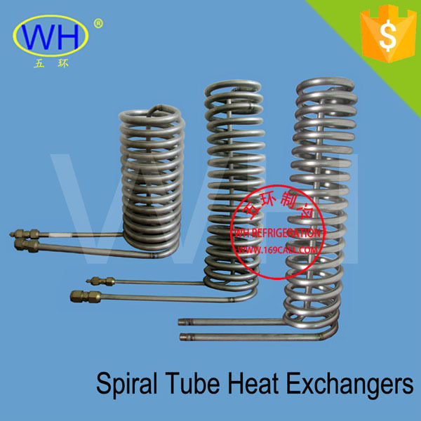WHC-5.0DG helical coil heat exchanger free shippping ! - Wenzhou Wuhuan Refrigeration Accessories Factory store