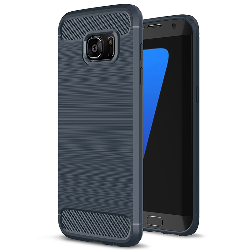 Luxury Hybrid TPU Armor Silicon Case For Samsung Galaxy A3 A320 A5 A520 A7 A720 2017 For Samsung S7 S7 Edge Soft TPU Back Cover