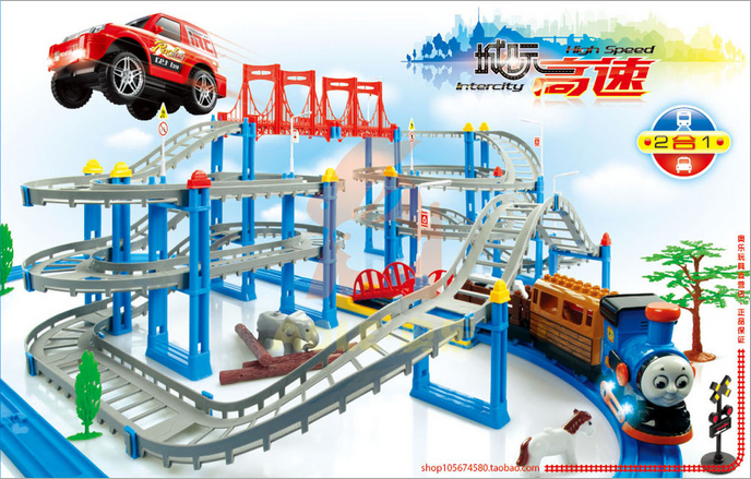 Fancy electric inter-city high-speed rail car toys(China (Mainland))