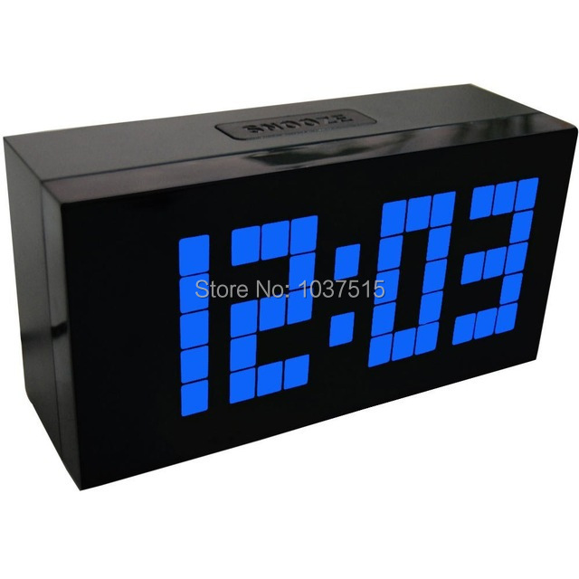 Interesting amazing horloge murale jumbo with horloge murale digitale led with pendule murale for Pendule digitale murale