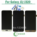 For Samsung Galaxy J3 J320 LCD Display With Touch Screen Digitizer Assembly Blue White Gold Tools