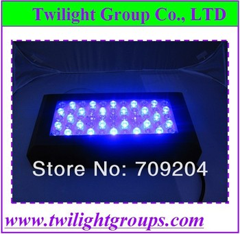 120w High Quality black case lighting effective heatsink Control Dimmer to promote coral reef growth