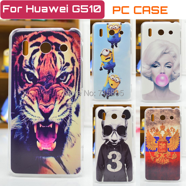 Hot Selling Huawei Ascend G510 Case Cover Colored Paiting Case Huawei G510 Ascend Free Shipping(China (Mainland))